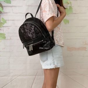 Michael Kors Kenly Medium Sequin Backpack